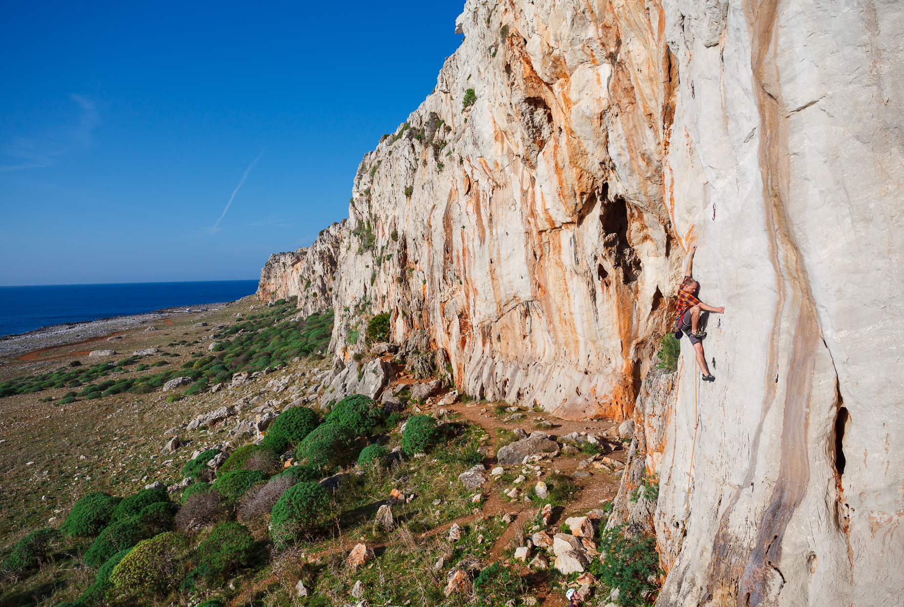 Climbing on Sicilly