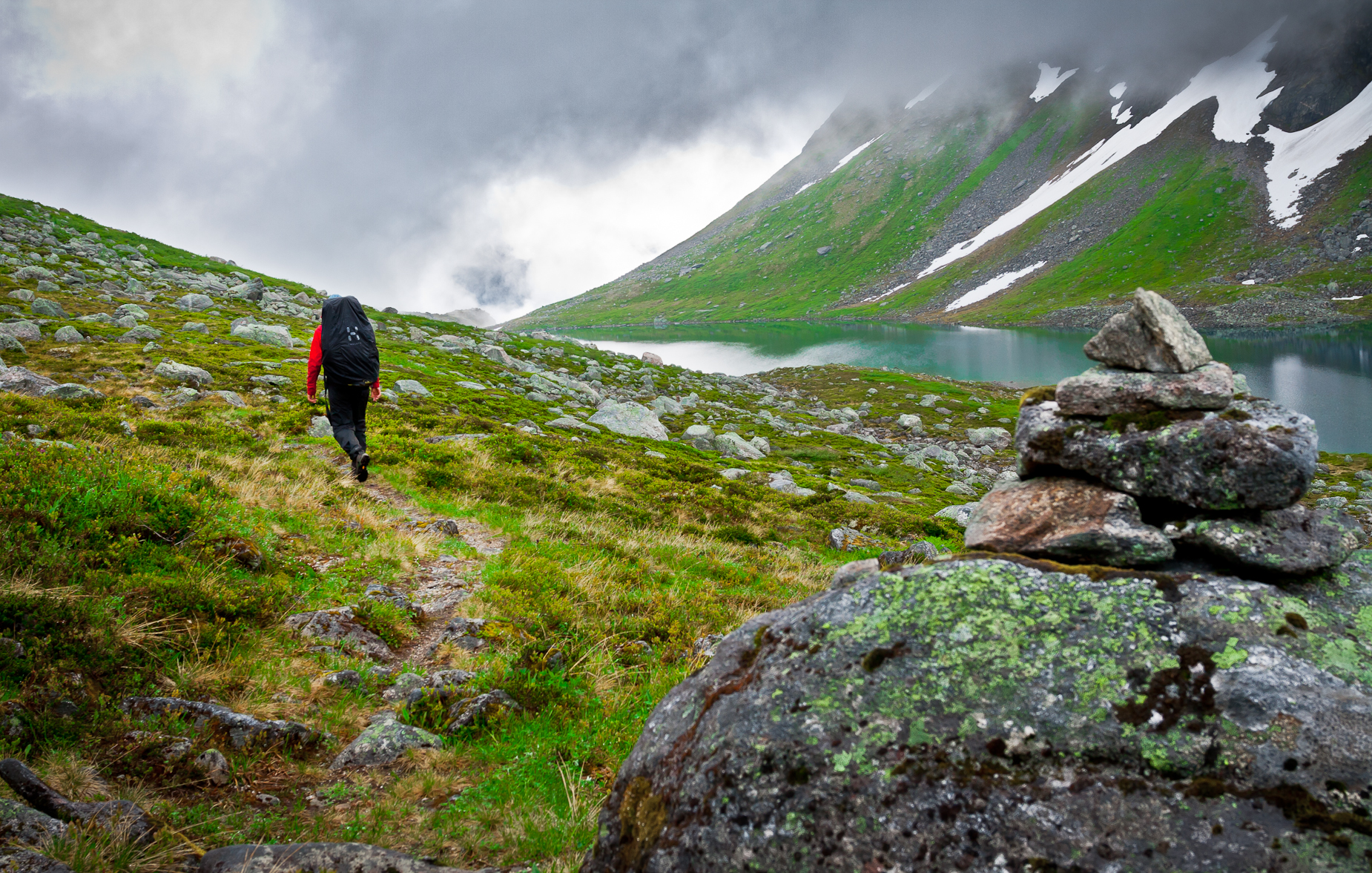 Trekking in Norway